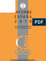 Educación e integración social. 2010.