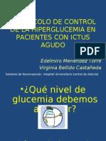 Protocolo de Control de La Hiperglucemia en El Ictus Agudo