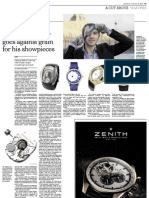 A Russian Gains Prominence Among Fine Watchmakers