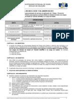 EDITAL DE SELEА╟O n. 04 - Concurso PM Oficial e Cadete