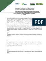 Ciencia sem fronteira - Retificação I da II Chamada CSF-PORTUGAL -127- 2012
