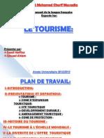 Le Tourisme