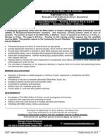 Reception/Administrative Assistant