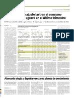 Radiografía de economía española 2012