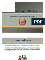 MCESA Grant Completion Report Handout
