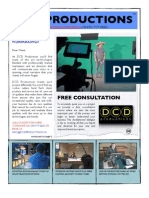 Dcd Productions Brochure 1