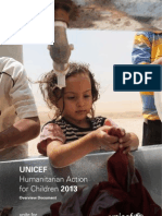 UNICEF - Humanitarian Action for Children 2013
