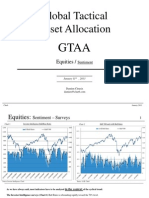 January 2013 Global Tactical Asset Allocation Equities Sentiment