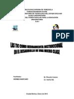 Las Tic Como Herramienta Instruccional en El Desarrollo de Una Micro Clase-2