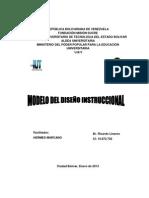 Modelos de diseño de instrucción
