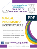 Manual Informativo Licenciaturas
