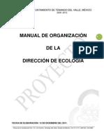 ECOLOGIA[1] Manual Organizacional Tenago