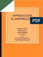 Olivar_ Alejandro - El Martirologio Romano