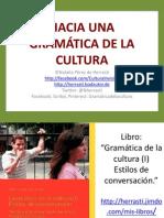 Hacia una gramática de la cultura