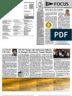 In FOCUS Newsletter - January 2013