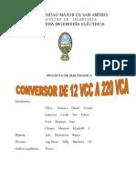 Conversor de Dc-Ac 2informe