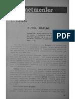 Pudovkin - Kurgu Üstüne