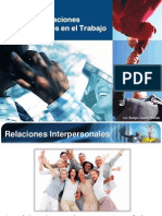 Manejo de Las Relaciones Interpersonales en El Trabajo