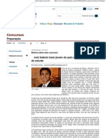 Folha Dirigida _ Concursos _ Preparação _ Juiz federal mais jovem do país dá dicas especiais de estudo