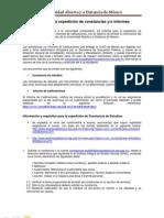 Reglamento de Cosntancias DGAIR