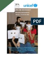 Suport de curs - Advocacy