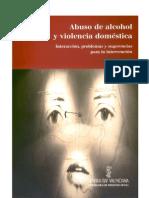 Abuso de alcohol y violencia doméstica