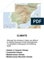 spain climate