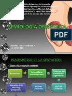 Semiologia obstetrica