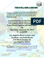 Los Angeles River RecreationAL Zone pilot program