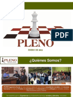 Presentacion de Pleno Enero de 2013