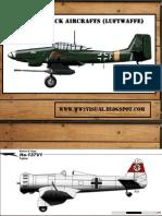 German Attack Aircrafts (Luftwaffe)
