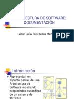 Documentacion Arquitecturas Software
