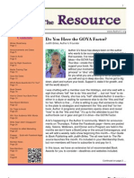 The Resource / Volume 3 Issue 1