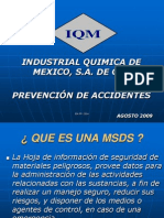 Curso Prevencion de Accidentes