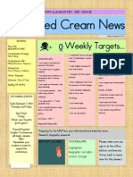 Whipped Cream Newsletter