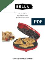 1333428124Bella Circus Waffle Maker