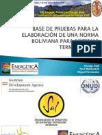 Base de Pruebas Para La Elaboracion de Una Norma Boliviana p
