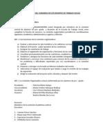 Reglamento Del Congreso de Estudiantes de Trabajo Social