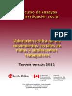 Scc Ensayos Investigacion Social III Version Edicion Electronica 20121