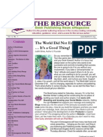 The Resource / Volume 4 Issue 1