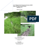 Shelburne Stormwater Mitigation Best Management Practice (BMP) Design and Implementation Project with Appendices (15.5MB)