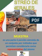 Muestreo de Minerales