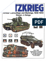 [Arms and Armour Press] Blitzkrieg. Armour Camouflage and Markings, 1939-40