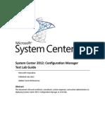 SCCM Test Lab Guide
