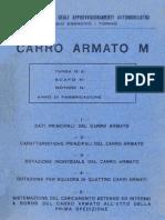 Carro Armato Fiat Ansaldo M11-39 1939 Dotazioni MI