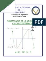 Semestrario de Calculo Diferencial
