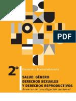 II Encuentro Universitario Genero Salud y DDSSRR