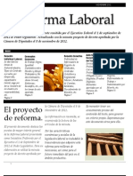 Reforma Laboral 2012 Resumen