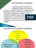Sistema de Control Interno Exposicion