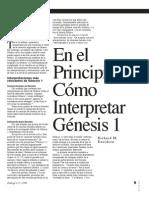 Richard Davidson-En El Principio-Como Interpretar Genesis 1DU